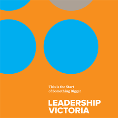 Analysis and writing for Leadership Victoria
